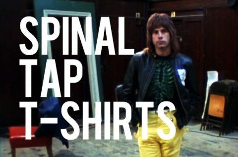 I blogged about every t-shirt in Spinal Tap, check it out!