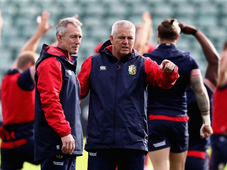 British and Irish Lions: New Zealand treatment of Warren Gatland has been a 'disgrace', says Rob Howley