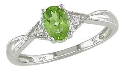 Peridot Ring LOVE!