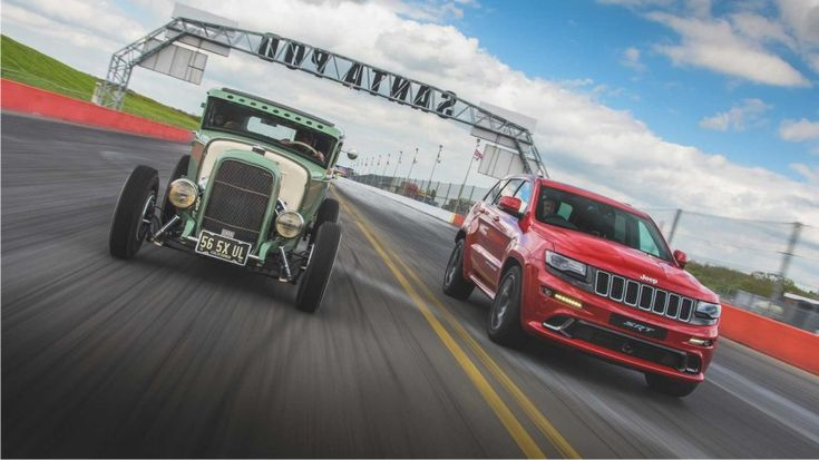 Jeep Grand Cherokee SRT Vs. HEMI Hot Rod. Duel  inegal? goo.gl/jheSXE
