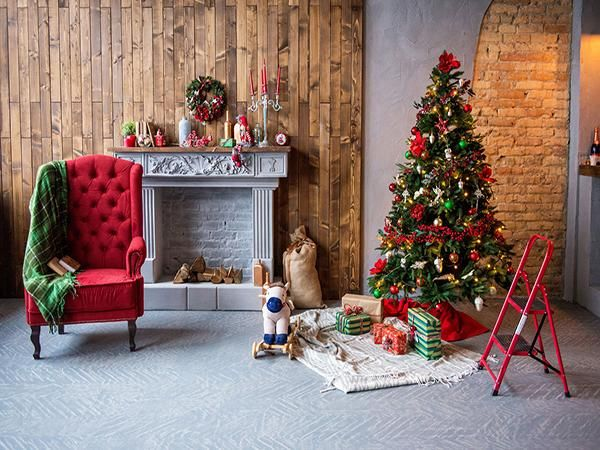 Indoor Fireplace Christmas Tree Photography Background: 25+ Unique Christmas Backdrops Ideas On Pinterest