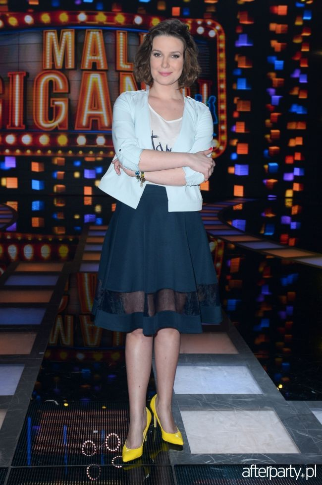 """Aneta Teodorczuk Perchuć w programie """"Mali Giganci"""""""