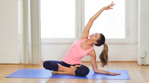 Intermediate Pilates: Fire Up Your Abs & Core - Fitness and Exercise Videos   Grokker