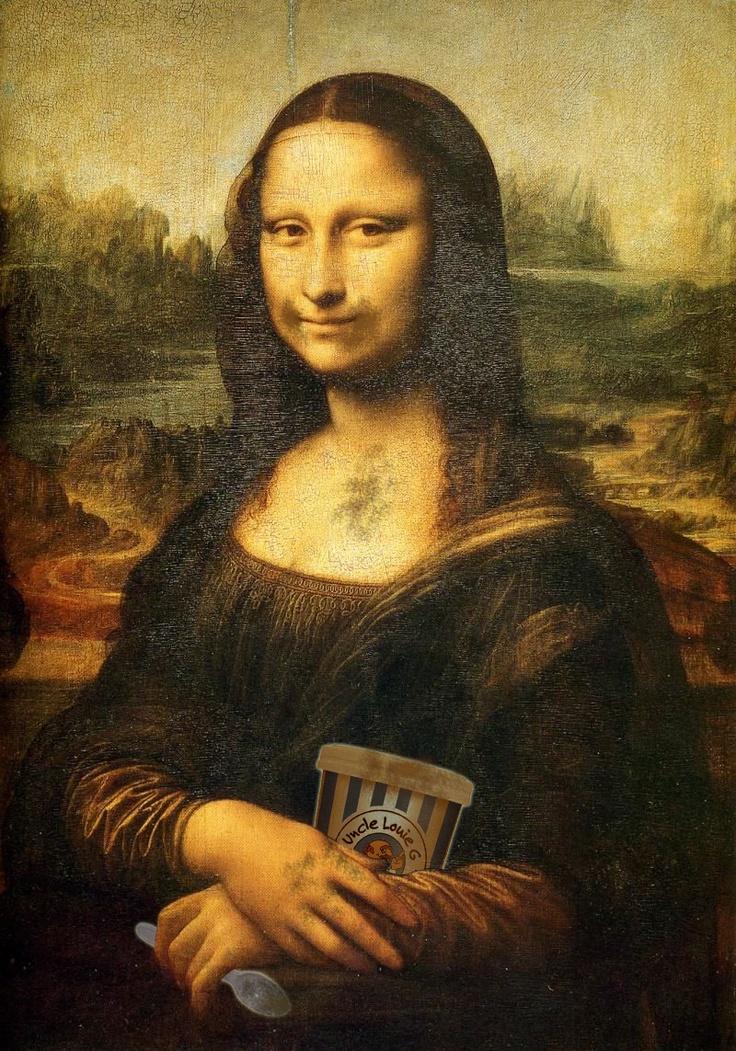 The ultimate classy lady....Mona Lisa