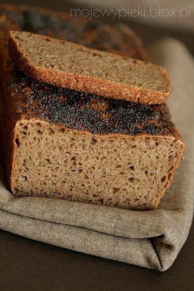 Niemiecki wiejski chleb żytnio-pszenny (na zakwasie)