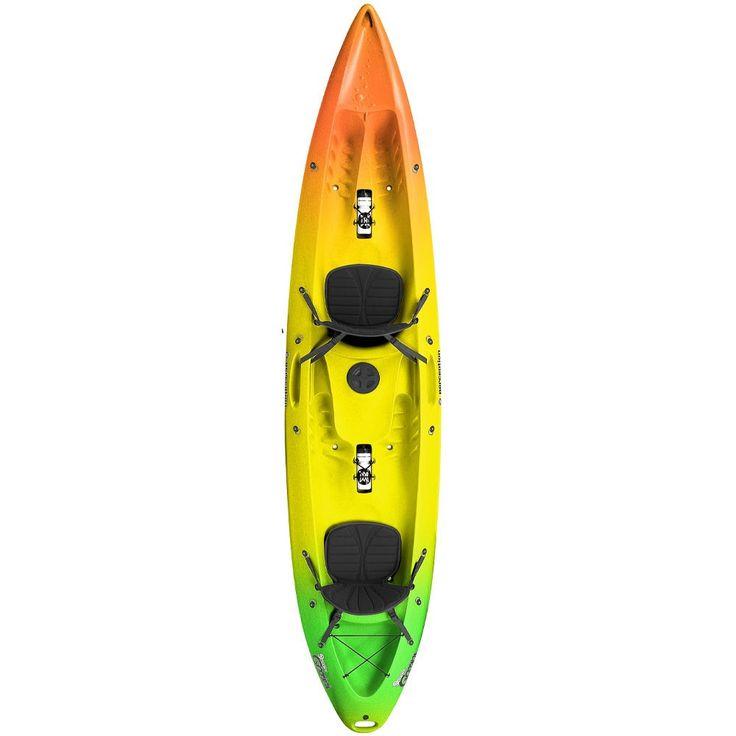 PERCEPTION KAYAK SCOOTER GEMINI COMFORT Zest - Perception Kayaks at Shore.co.uk