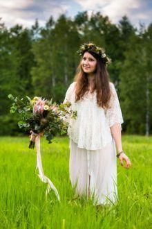 kwiaty i dekoracje do sesji zdjęciowej