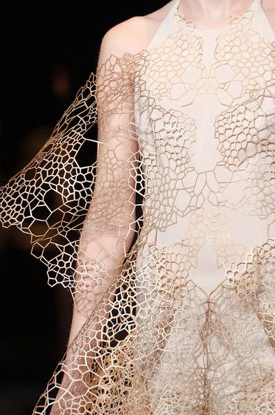 Iris Van Herpen at Paris Fashion Week Fall 2016 - Details Runway Photos