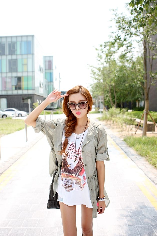 Korean Fashion LS street style