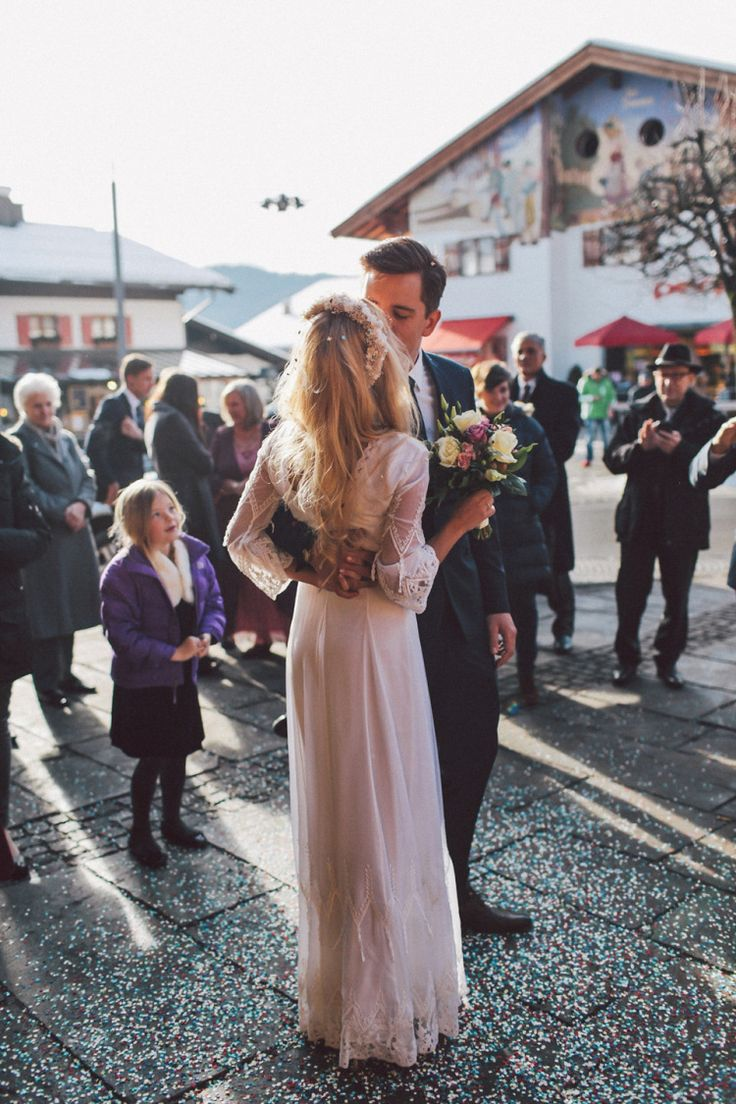 Two Free People Wedding Dresses for a Hippie and Romantic Inspired Snowy Celebration in Germany | Love My Dress® UK Wedding Blog