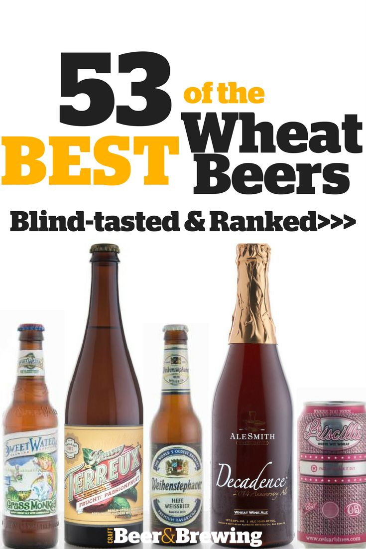 53 of the Best Wheat Beers: Blind-Tasted and Ranked