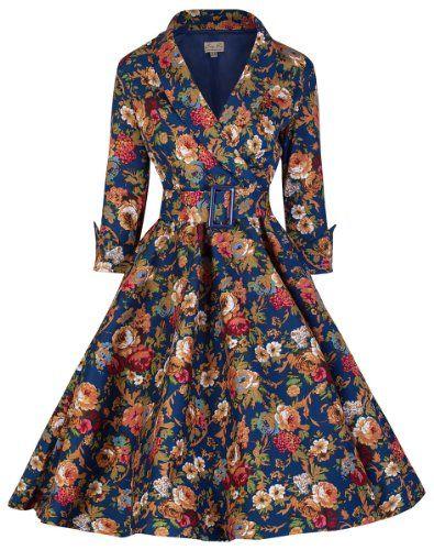 Lindy Bop Women S Vivi Vintage 1950 S Style English Rose