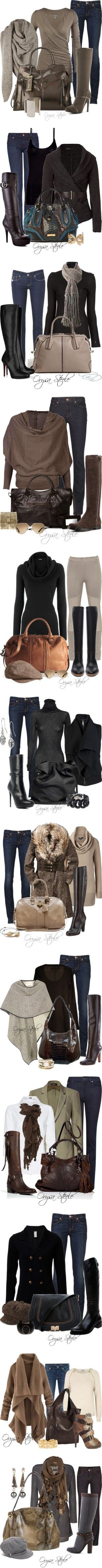 Beautiful Boots by orysa on Polyvore featuring J Brand, AllSaints, Chocolate New York, Gomax, Jody Candrian, jbrand, MANGO, Donna Karan, Burberry and GUESS