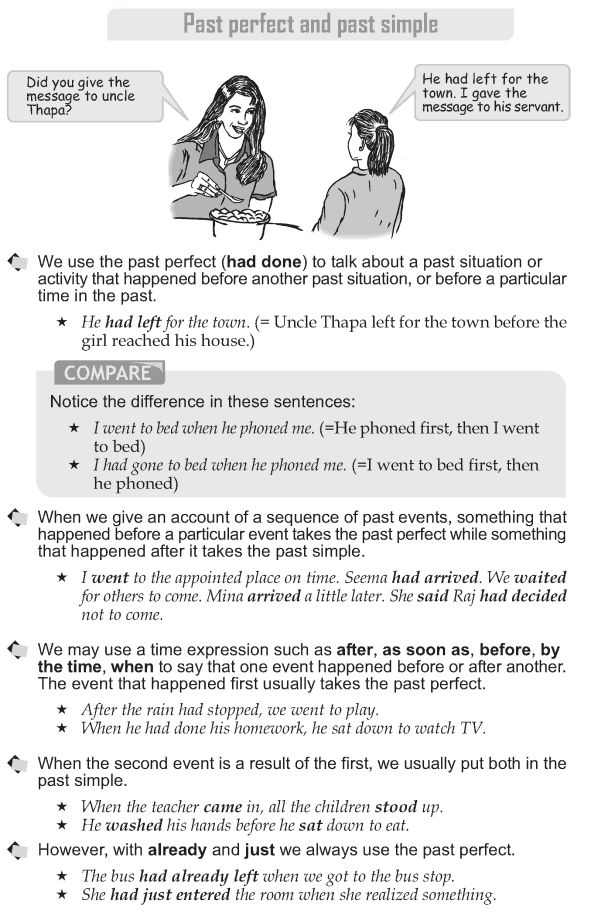 Grade 10 Grammar Lesson 8 Past perfect and past simple  (1)