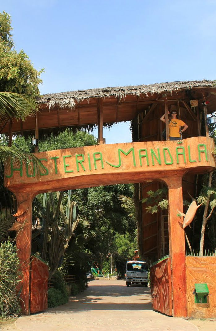 Hosteria Mandala (Puerto Lopez, Ecuador)