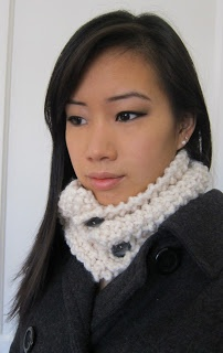 Purllin: The Cuddle Me Neck Warmer. Just made this recently. Very easy with a great result.
