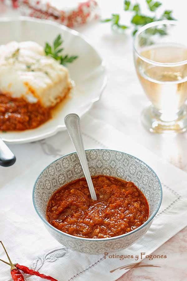 POTINGUES Y FOGONES: Salsa vizcaína