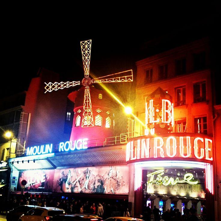Moulin Rouge(ムーラン・ルージュ)  http://www.moulinrouge.fr/