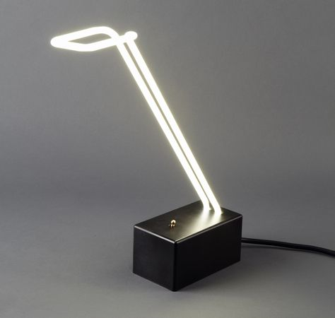 Neon Table Lamp by Mary Wallis