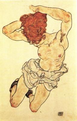 Redhead, 1917 EGON SCHIELE : More At FOSTERGINGER @ Pinterest