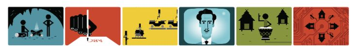 """Great Google Doodle. Happy B-day Marshall McLuhan. In an age of terms like """"Fake News"""" perhaps required reading. https://www.google.com/doodles/marshall-mcluhans-106th-birthday?utm_content=buffer19c28&utm_medium=social&utm_source=pinterest.com&utm_campaign=buffer"""