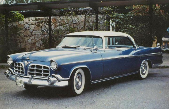 63 best Chrysler Imperial 1955-56 images on Pinterest | Old ...