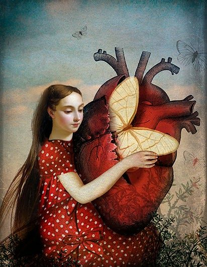 Catrin Welz-Stein. Heidinote: take a pic of you and illustrate what you might pull from your heart