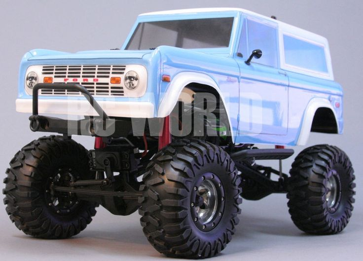Axial Scx10 1 10th Rc Truck Ford Bronco 4wd Rock Crawler