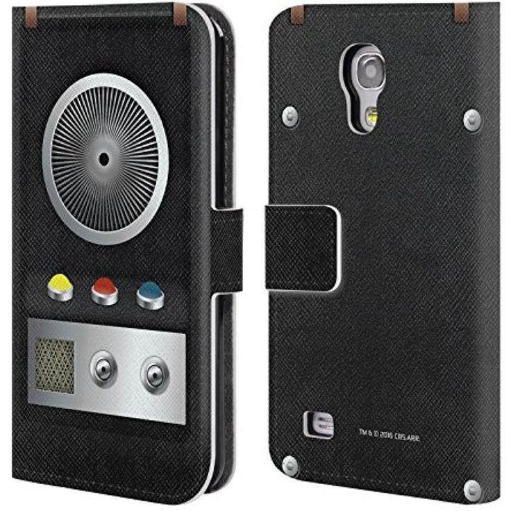 Official Star Trek Communicator Gadgets Leather Book Wallet Case Cover For Samsung Galaxy S4 mini I9190 ** You can get additional details at the image link. (This is an affiliate link) #CasesHolstersClips
