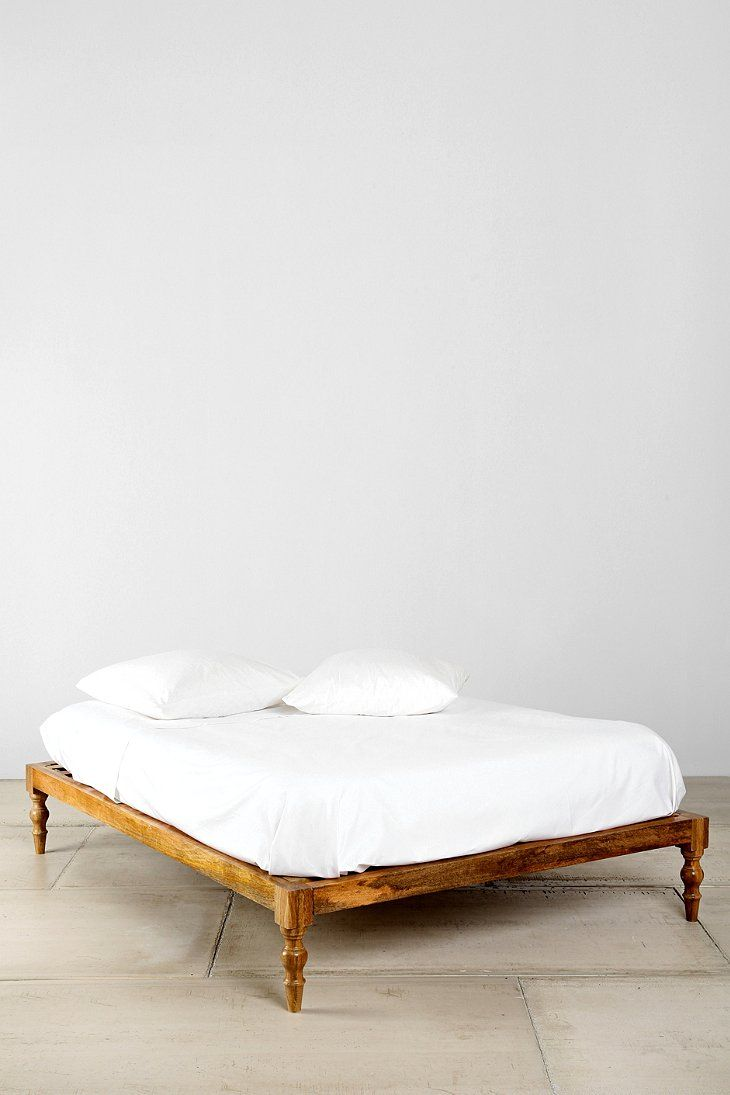 """Magical Thinking Bohemian Platform Bed""...fancy words for what looks like a traditional indian 'manja'/bed...;)"