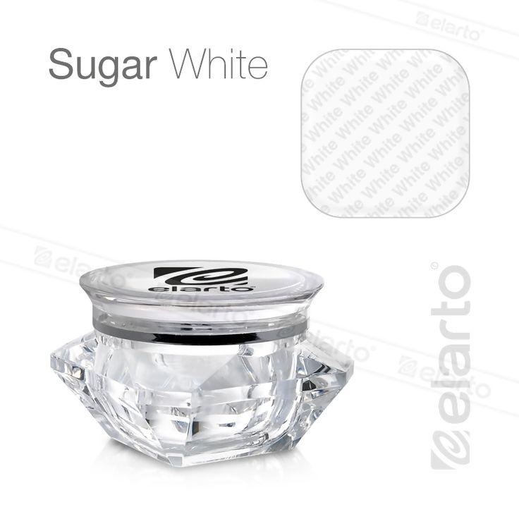 Żel średniogęsty biały Sugar White Gel 5g #elarto #white #gel