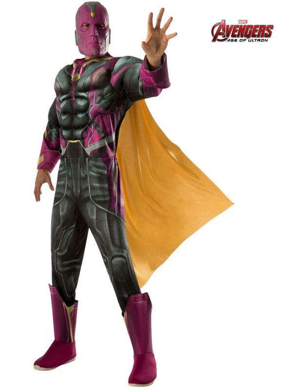 Deluxe Vision Avengers 2 Costume Adult