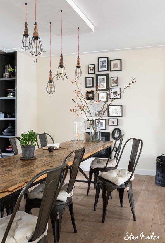 Les tables de ferme reviennent dans nos intérieurs... Tendance, inspiration et conseils décoration pour la cuisine par Collector Chic.