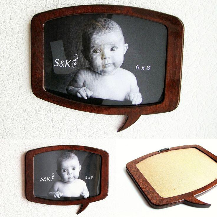 """Wall frame for photo 6"""" x 8"""" #frame #frames #photoframe #handmade #wooden frame"""