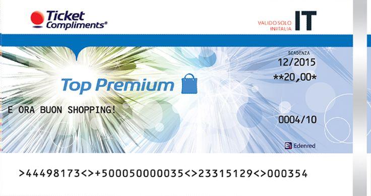 Ticket Compliments Top Premium: inizia a premiare i tuoi dipendenti risparmiando! #Top_Partners