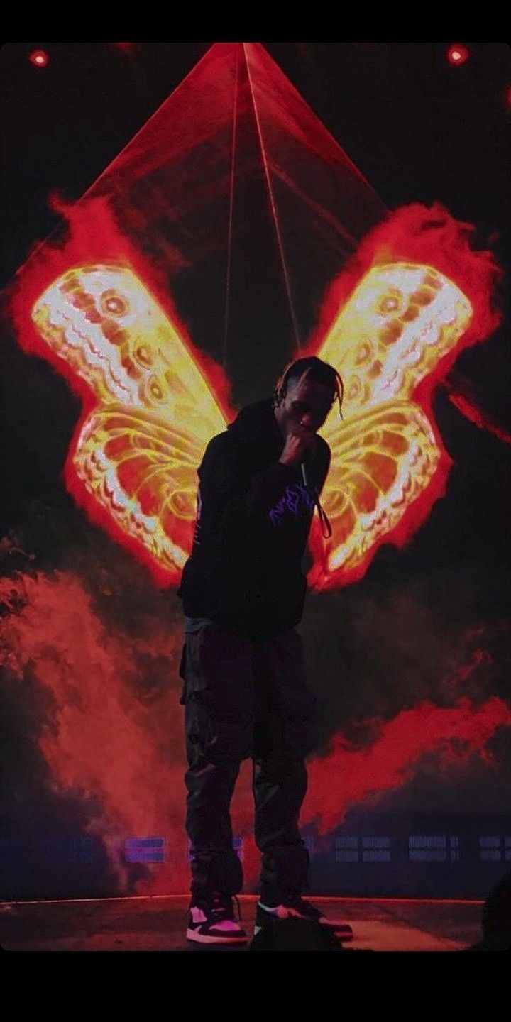 Pin By A On Rage Travis Scott Wallpapers Rap Wallpaper Travis Scott