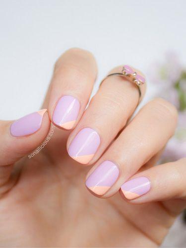 Nail art para uñas cortas - Estilove
