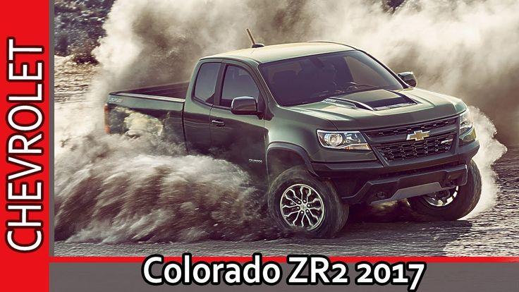 Chevrolet Colorado ZR2 2017 / Шевроле Колорадо ZR2 2017 - Обзор от AUTO ...