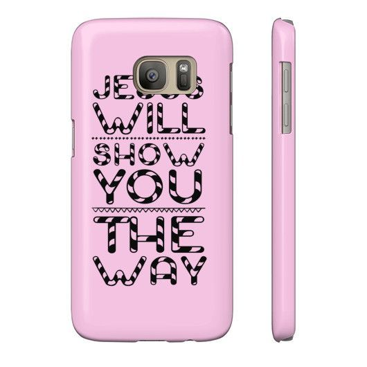 Jesus Will Show You The Way Candy Phone Case