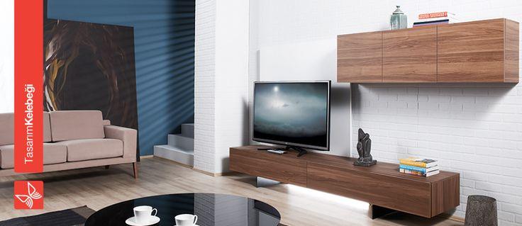 TACTUS farklı, ilgi çekici ve kullanışlı! Düşer kapak dolapları ve stoplu çekmeceleri, siyah statik boyalı ayakları ile farklı bir tasarım sunuyor.  http://www.kelebek.com.tr/
