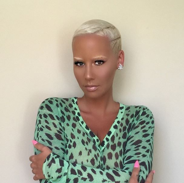 That blouse!!Amber Rose