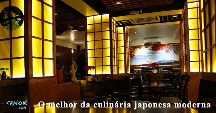 Sanok Sushi é o Restaurante Japonês no Itaim Bibi que oferece o melhor da gastronomia japonesa com diferentes fusões e combinações entre Oriente e Ocidente