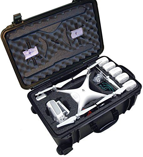 Case Club Waterproof DJI Phantom 4 Drone Wheeled Case with Silica Gel (Propellers On) - http://www.midronepro.com/producto/case-club-waterproof-dji-phantom-4-drone-wheeled-case-with-silica-gel-propellers-on/