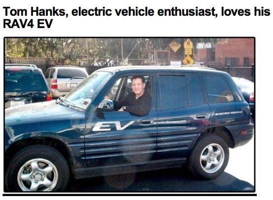 Tom Hanks is een enthousiast elektrisch rijder. Wil jij ook eens een elektrische of hybride auto proberen? Vraag op www.yushift.com een proefrit aan. Vergelijk hybride en elektrische auto's op range / actieradius, snelheid, bijtelling en kosten.