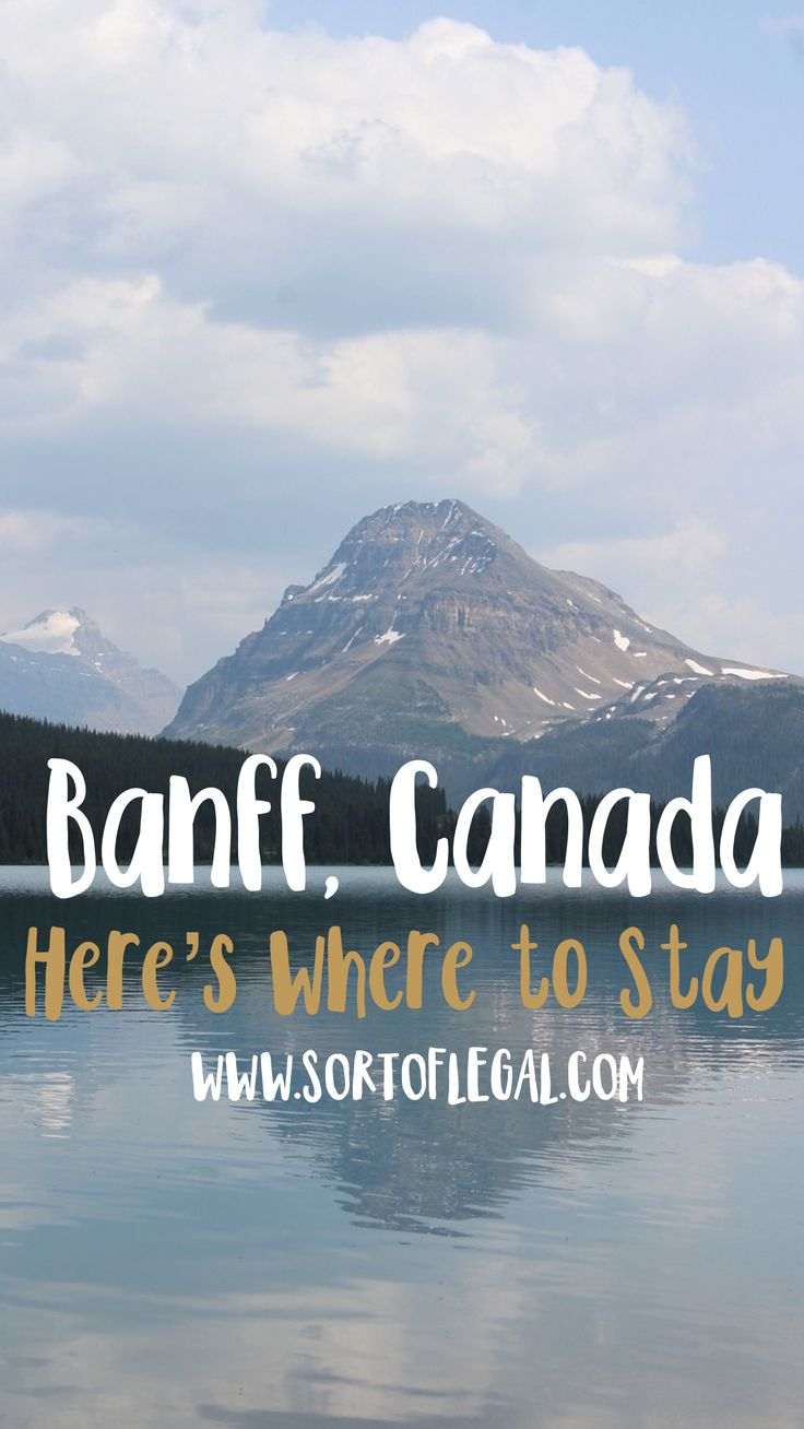 Where to Stay When Visiting Banff National Park