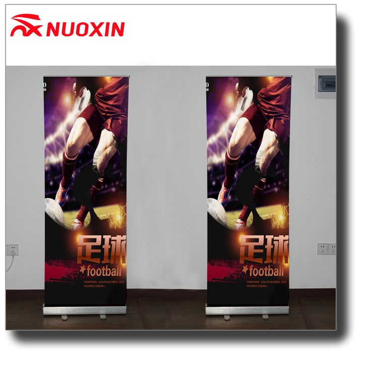 NX best selling rollup display stand 100x200cm wide base roll up banner