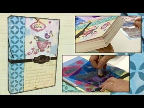 Curso online: Pintura com Estêncil - Mayumi Takushi www.atelienaweb.com.br