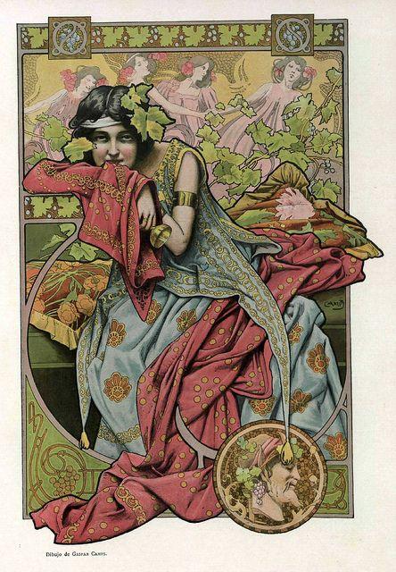 All sizes | 016-Dibujo 2- Gaspar Camps- Album Salon enero 1903-Hemeroteca de la Biblioteca Nacional de España, via Flickr.