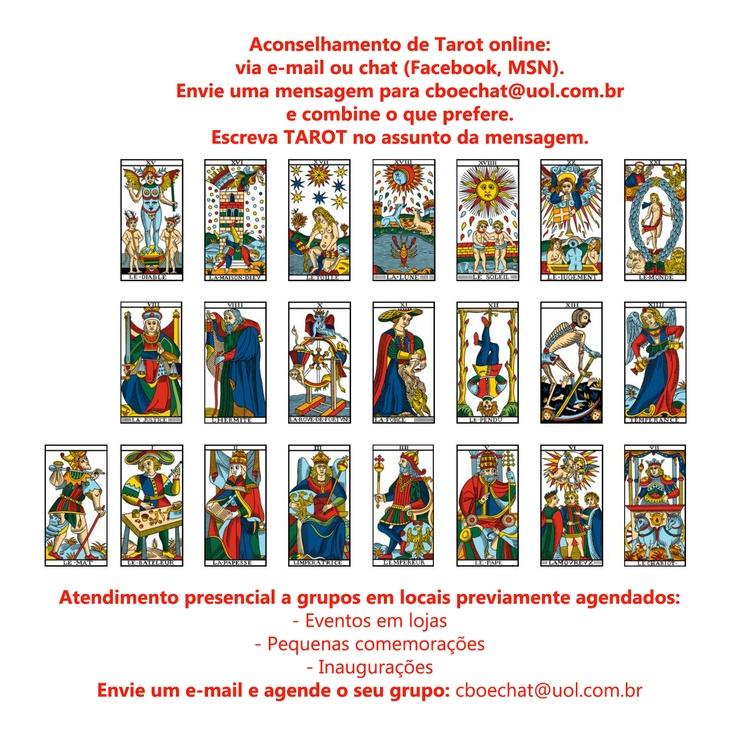 ACONSELHAMENTO DE TAROT VIA E-MAIL