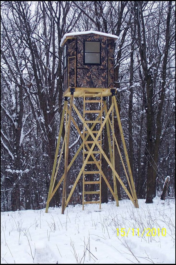Diy Tree Stand Elevator Brackets Hunting Deer Stand